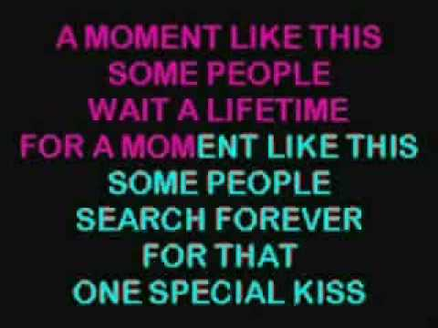 A Moment Like This Karaoke - Kelly Clarkson_1.WMV