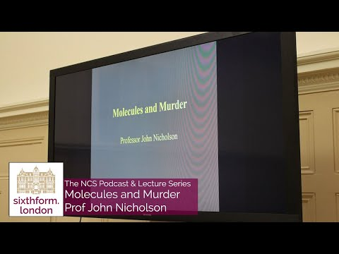The NCS Podcast & Lecture Series #12 - Prof John Nicholson