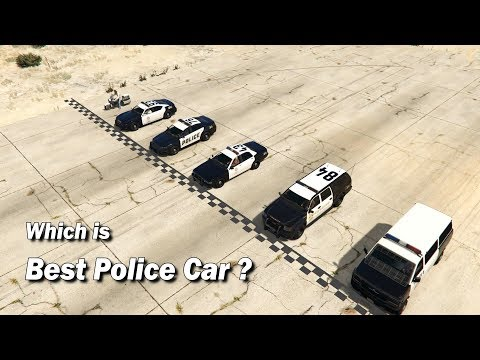 GTA V Which Police Vehicle is Best ?