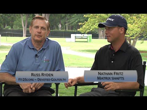 Matrix Golf Shafts - White, Red & Black Tie - Custom Golf Club Fititng