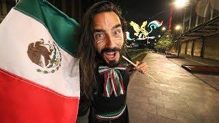 Vivo el grito de INDEPENDENCIA de MÉXICO   Por primera vez