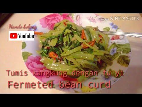 Tumis Kangkung Dengan Fu Yi(fermeted Bean Curd)