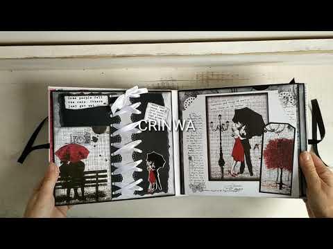 Álbum-negro/rojo/blanco