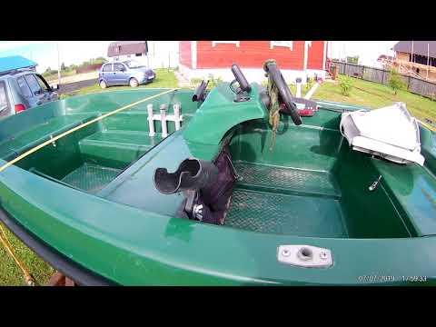 Обзор лодки Кайман 36 С, с консолью и некоторыми доработками под себя