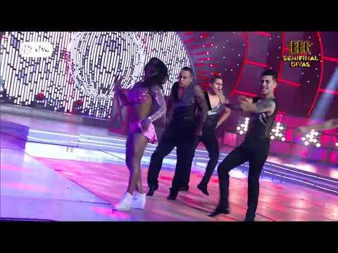 """Karen Dejo impactó bailando """"Let's Get Loud"""" de Jennifer López"""