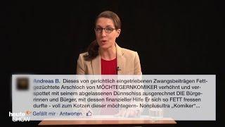Birte Schneider liest ausgewählte Hasskommentare (2)