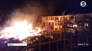 Пожежа в одеському таборі  загинули діти