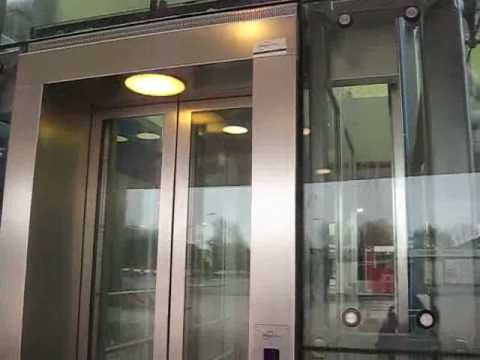 All In Traction Elevator Holendrecht Train Station Youtube
