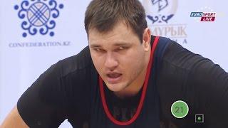 2014 World Weightlifting Championships, Men +105 kg \ Тяжелая Атлетика. Чемпионат Мира