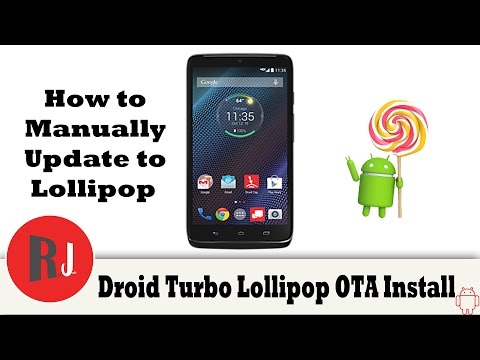 How To Manually Install Lollipop 5.1 OTA Update On The Motorola Droid Turbo And Review