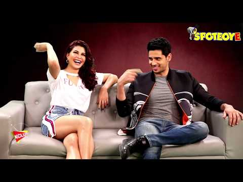 Exclusive Sidharth Malhotra and Jacqueline Fernandez  for A Gentleman  SpotboyE