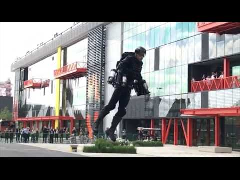Iron Man Style Jet Pack Demonstration In Front Of Audience (June 2017)