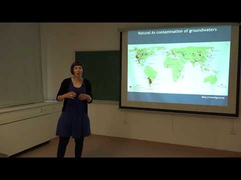 Lecture: Arsenic contamination of groundwaters