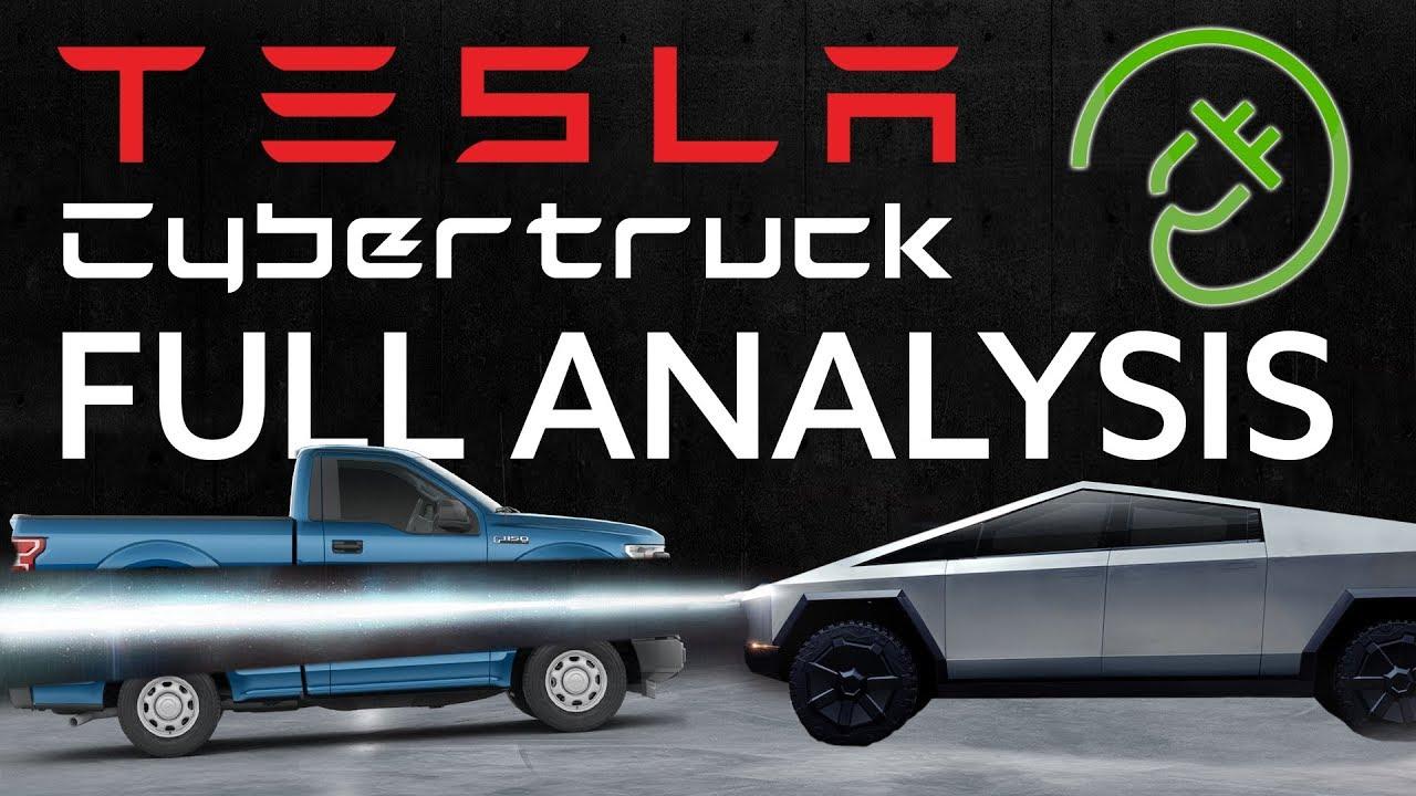 Tesla CyberTruck Complete Analysis & Pickup Comparison ...
