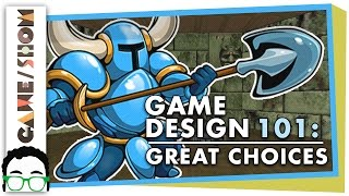 Repeat youtube video Game Design 101: How to Make Choices that Matter | Game/Show | PBS Digital Studios