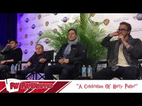 Tom Felton, Matthew Lewis, Warwick Davis & Jason Isaacs Interview (1/4)