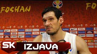Boban Marjanović posle pobede nad Filipinima u 2. kolu Svetskog prvenstva    SPORT KLUB KOŠARKA