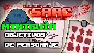 The Binding of Isaac AFTERBIRTH Marcas de Logro de Personaje (Guía/Tutorial)