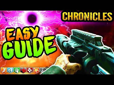ULTIMATE ASCENSION EASTER EGG GUIDE: BO3 Zombies Chronicles Ascension Easter Egg Walkthrough Tut