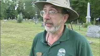 Adirondack Living TV visits final resting place of Adirondack folk hero