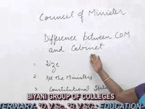 Council of Ministers lecture, BA, MA  by Dr. Shivani Bansal, Biyani group of colleges