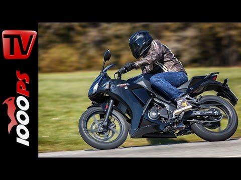 2015 Honda CBR300R Test | A2 - 48PS Einsteiger Motorräder Foto