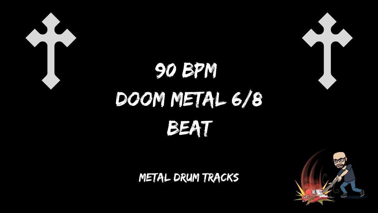 90 Bpm Doom Metal Beat Metal Music Foundry Youtube