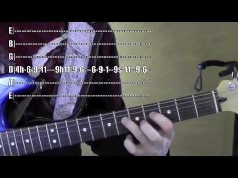 Make it Rain ★ Guitar Lesson ★ Sons of Anarchy ★ Ed Sheeran