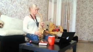 Саксофон Анастасия Высоцкая