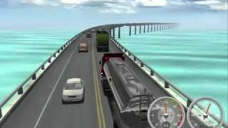 Haulin acidente na Ponte