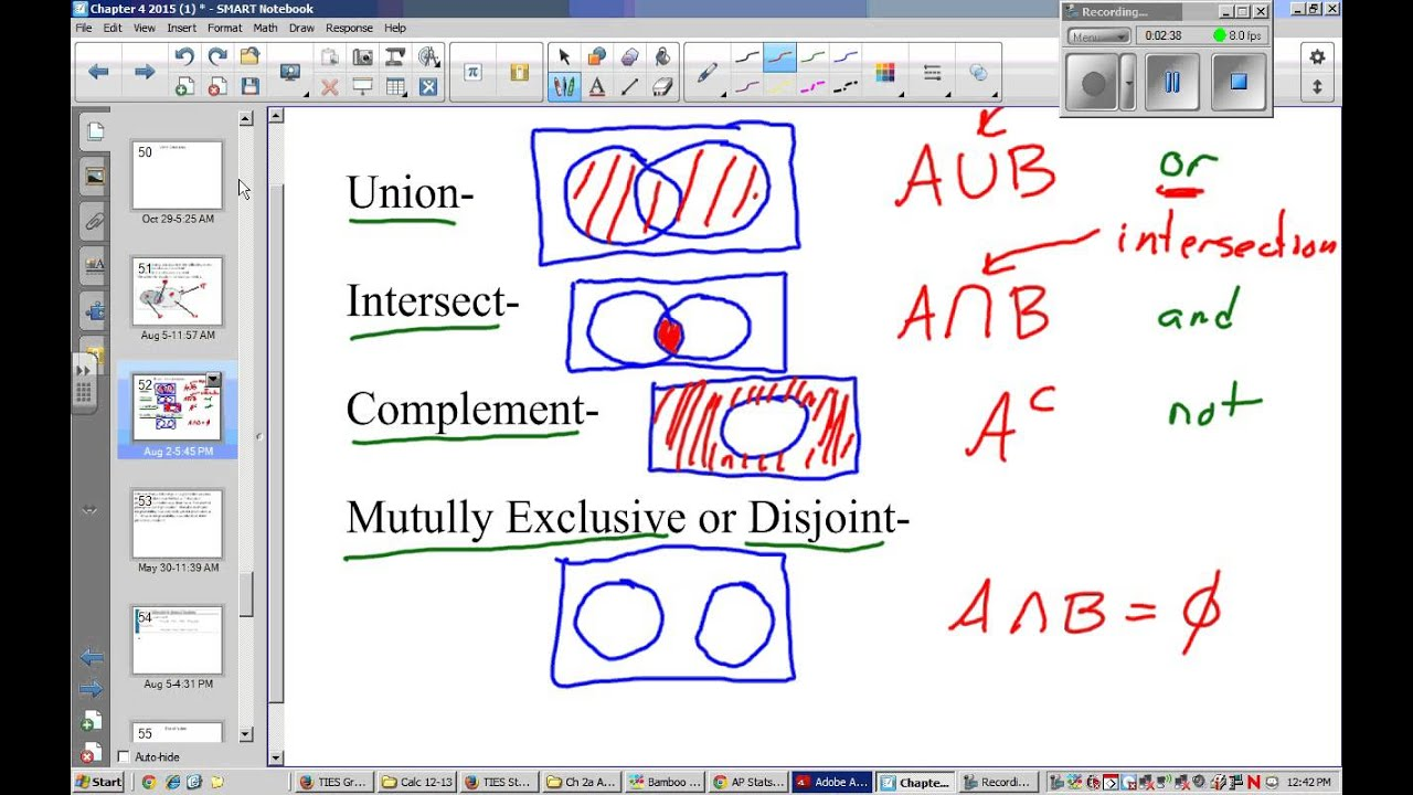 Venn diagrams ap statistics diy wiring diagrams ap stats video 7 venn diagrams 1 youtube rh youtube com data science venn diagram tree ccuart Images