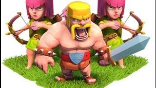 Clash Of Clans BARCH Attacks at 3500(best for farming)