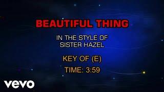 Sister Hazel - Beautiful Thing (Karaoke)