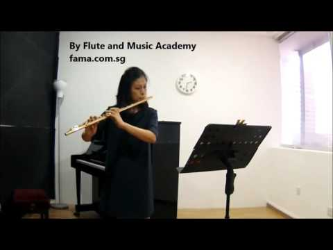 Flute ABRSM Grade 5 2014-2017, C2: Ernesto Kohler's Exercise in G, No 12 from Schule fur Flote