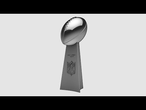 The Vince Lombardi Trophy Modeled in Autodesk Inventor
