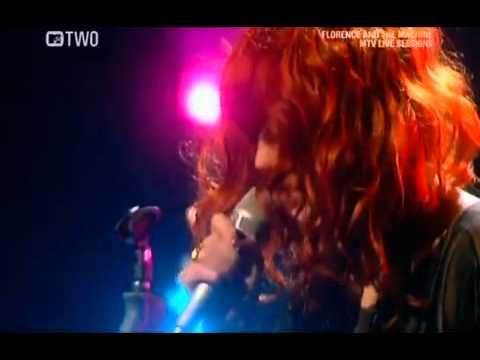 Florence and The Machine Live at MTV Music Session 2009 Drumming Song