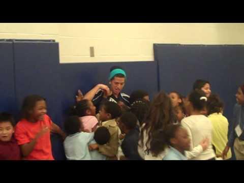 Red Bull Street Style visits McLendon Elementary School