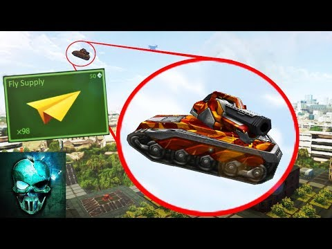 Tanki Online - FLYING SUPPLY !!? Concept #3 | NO JUMP HACK | танки Онлайн