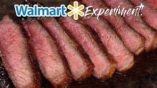 I tried to make WALMART Steaks taste like a MILLION Dollars!