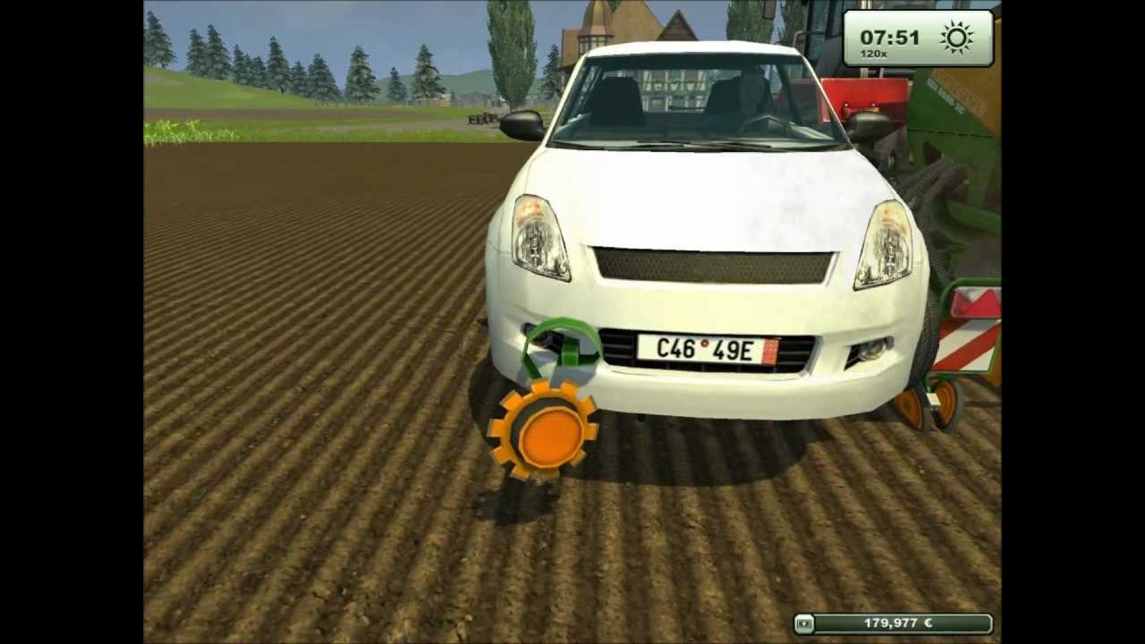 epic un ouvrier vole une voiture sur farming simulator 2013 youtube. Black Bedroom Furniture Sets. Home Design Ideas