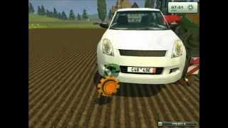 Repeat youtube video EPIC !!!!! Un ouvrier vole une voiture sur Farming Simulator 2013