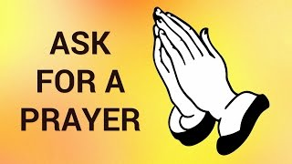 How to ask for prayer request on facebook