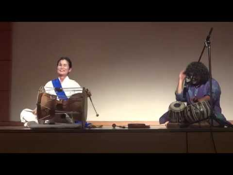 Korean - Samulnori & Indian Tabla Duet (사물놀이 - 타블라, 한국 - 인도)
