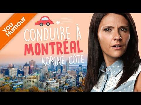 KORINE COTE: Difficile de conduire à Montréal