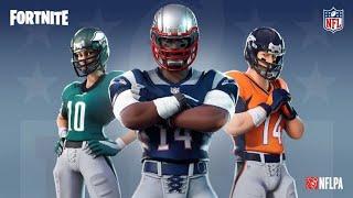 Novas Skin FORTNITE X NFL (Em Breve)