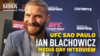 Jan Blachowicz Trained With Thiago Santos' Coaches 'Because They Beat Me Like a Team' - MMA Fighting