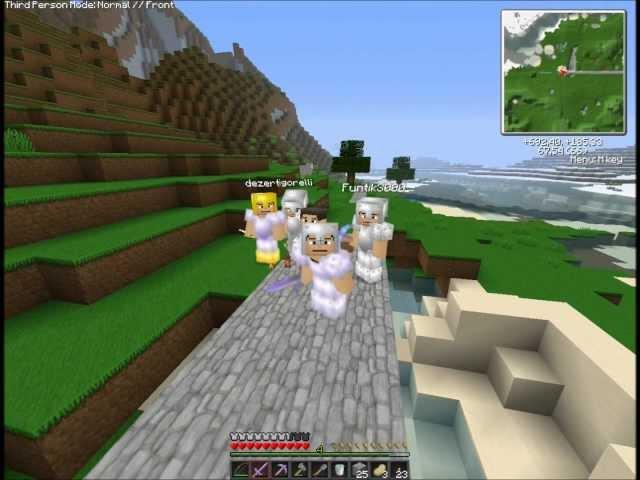 """Смотреть прохождение игры [Coop & Friends] Minecraft 1.3.1. Серия 17: """"Шахтерский комбаин-2""""."""