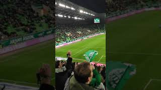 Ferencváros–Haladás 2–0 (Lovrencsics G. 69., Sigér 78.) Budapest, Groupama Aréna, 7865 néző 1