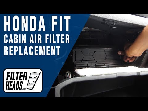 Amazing How To Replace Cabin Air Filter Honda Fit