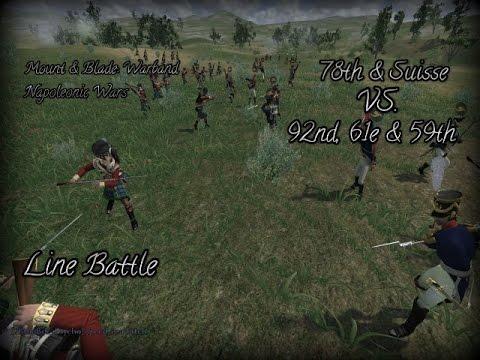 Napoleonic Wars - Line Battle #5 | 78th & Suisse Vs. 92nd, 59th & 61e 02.03.16